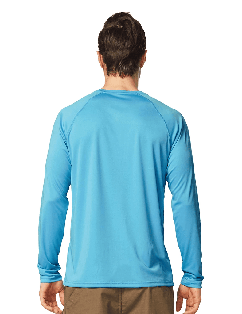 male upf50+ long sleeved loose fit casual t-shirt age group adult Clothing baleaf