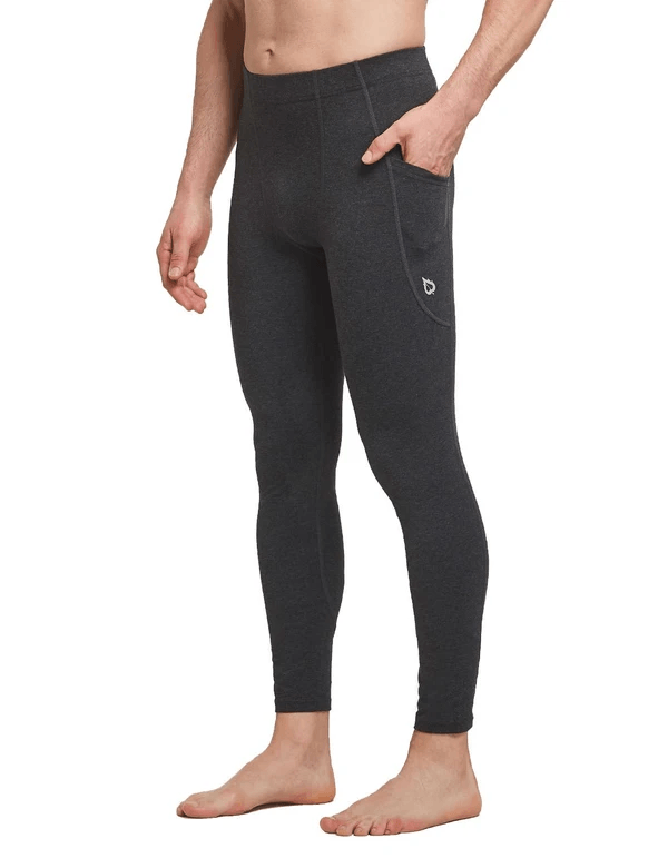 Mid-Rise Side Pocketed Gym & Yoga Compression Tights Clothing Lightones