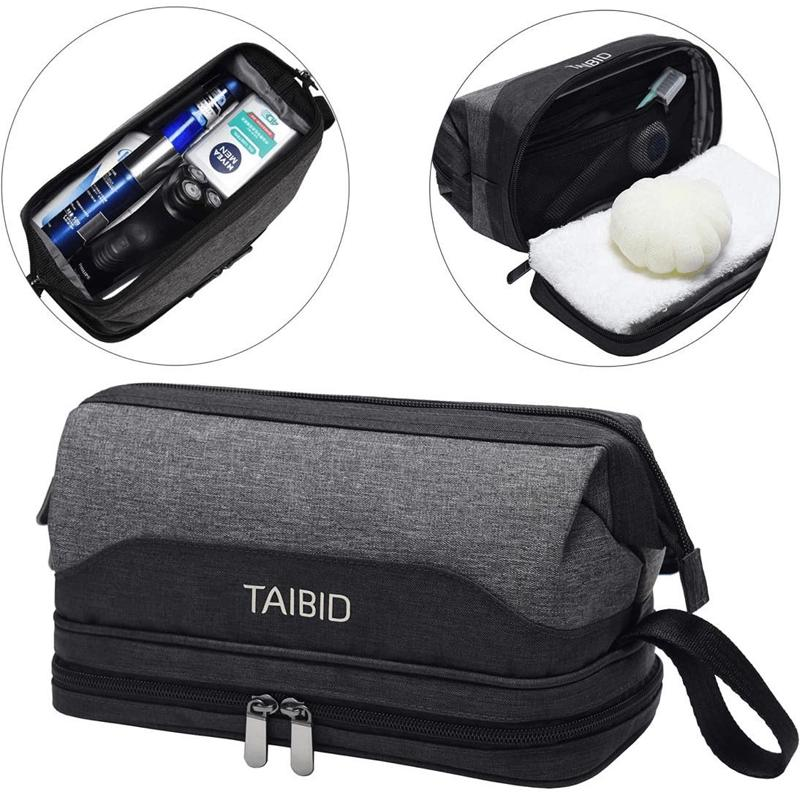 travel toiletry bag wash shaving bathroom organizer age group adult Bag Taibid
