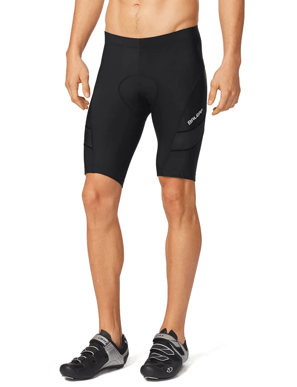 unisex 3d chamois padded low cut compression cycling shorts age group adult Clothing Lightones Black S