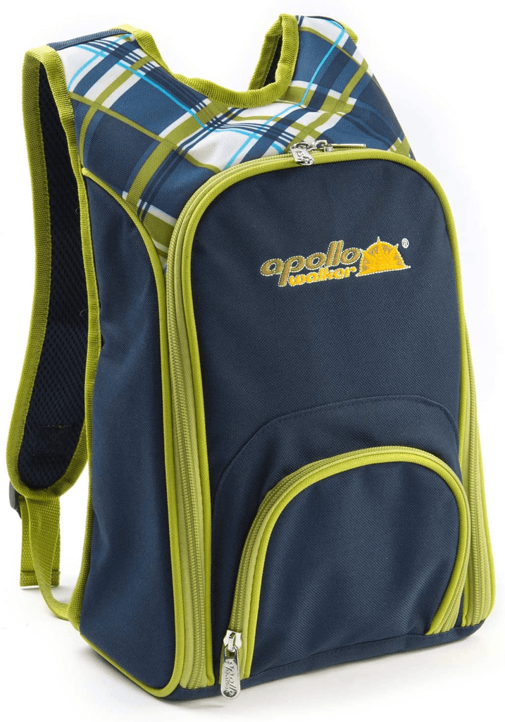 unisex apollowalker picnic backpack for 2 person set pack age group adult Bag apollowalker
