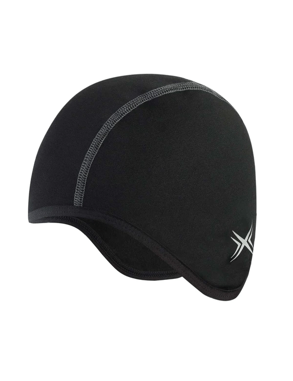 unisex thermal fleece lined breathable cycling cap age group adult Clothing LightoneSport Black One Size