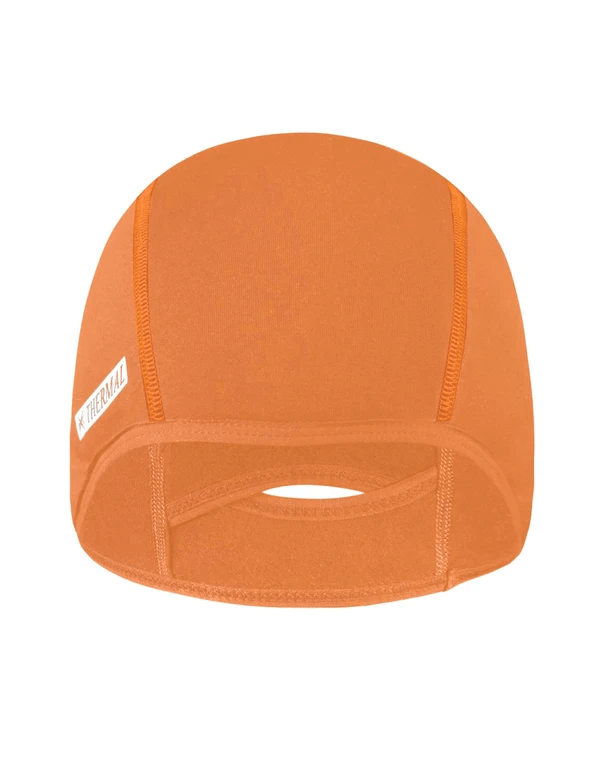 unisex thermal fleece lined breathable cycling cap age group adult Clothing LightoneSport Orange One Size