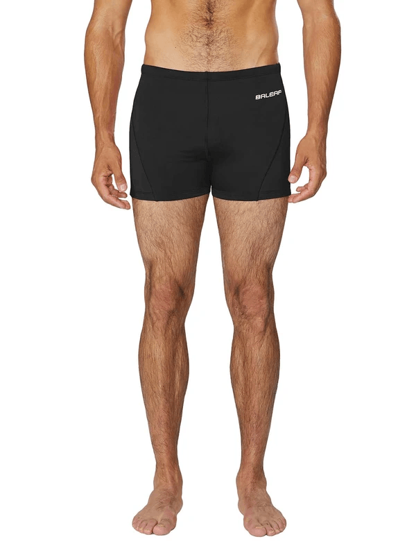 unisex upf50+ durable skin tight compression swim trunks age group adult Clothing Lightones Black XS