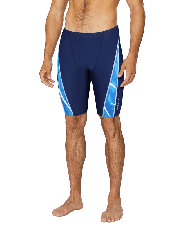 unisex upf50+ fully-lined skin tight compression swim shorts age group adult Clothing Lightones Navy XS