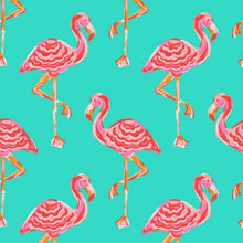 Load image into Gallery viewer, Tickled Pink Flamingo Beach Bag