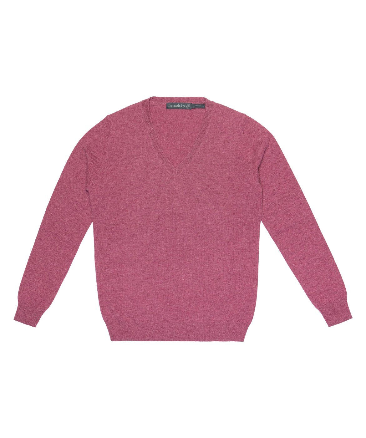 Women's Luxe Touch Wool V Neck Sweater Dried-Rose