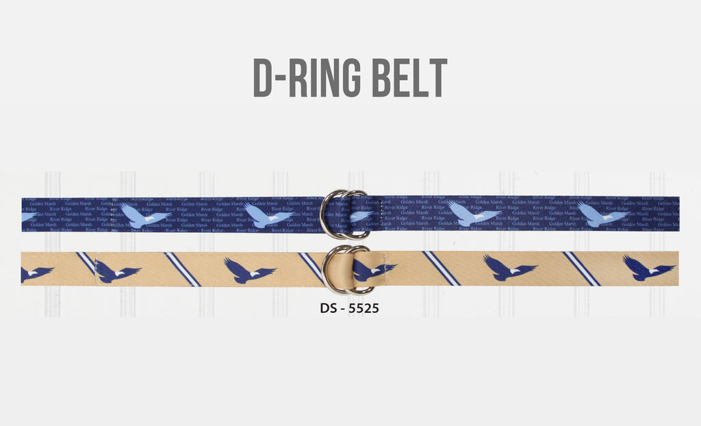 D-Ring Dye-Sublimation Belts