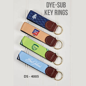 Dye-Sublimation Key Rings