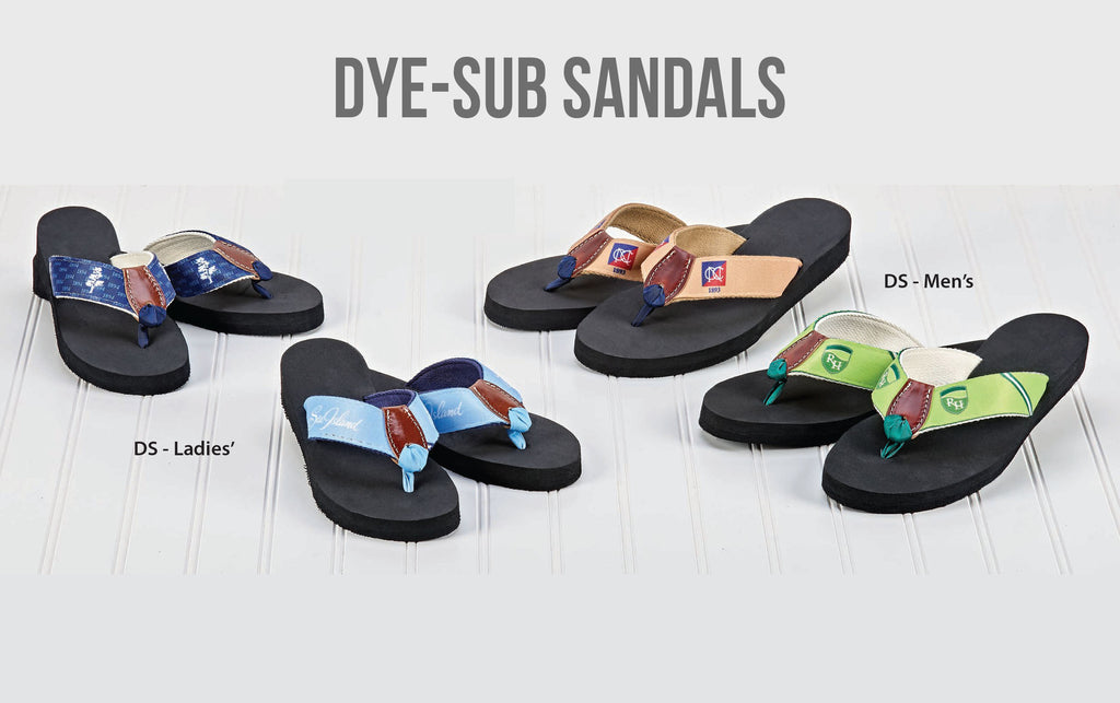 Dye-Sublimation Sandals