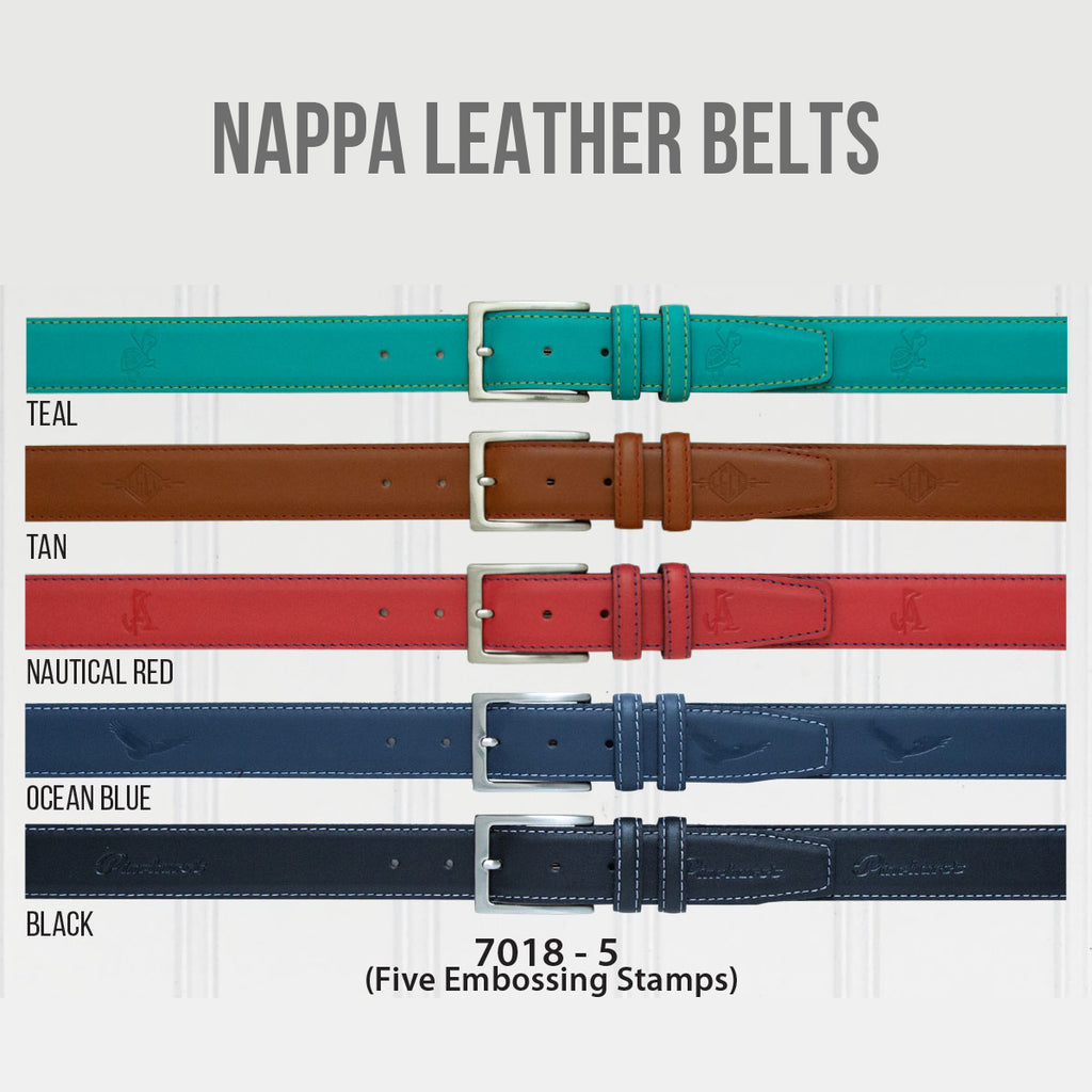 Nappa Leather Belts