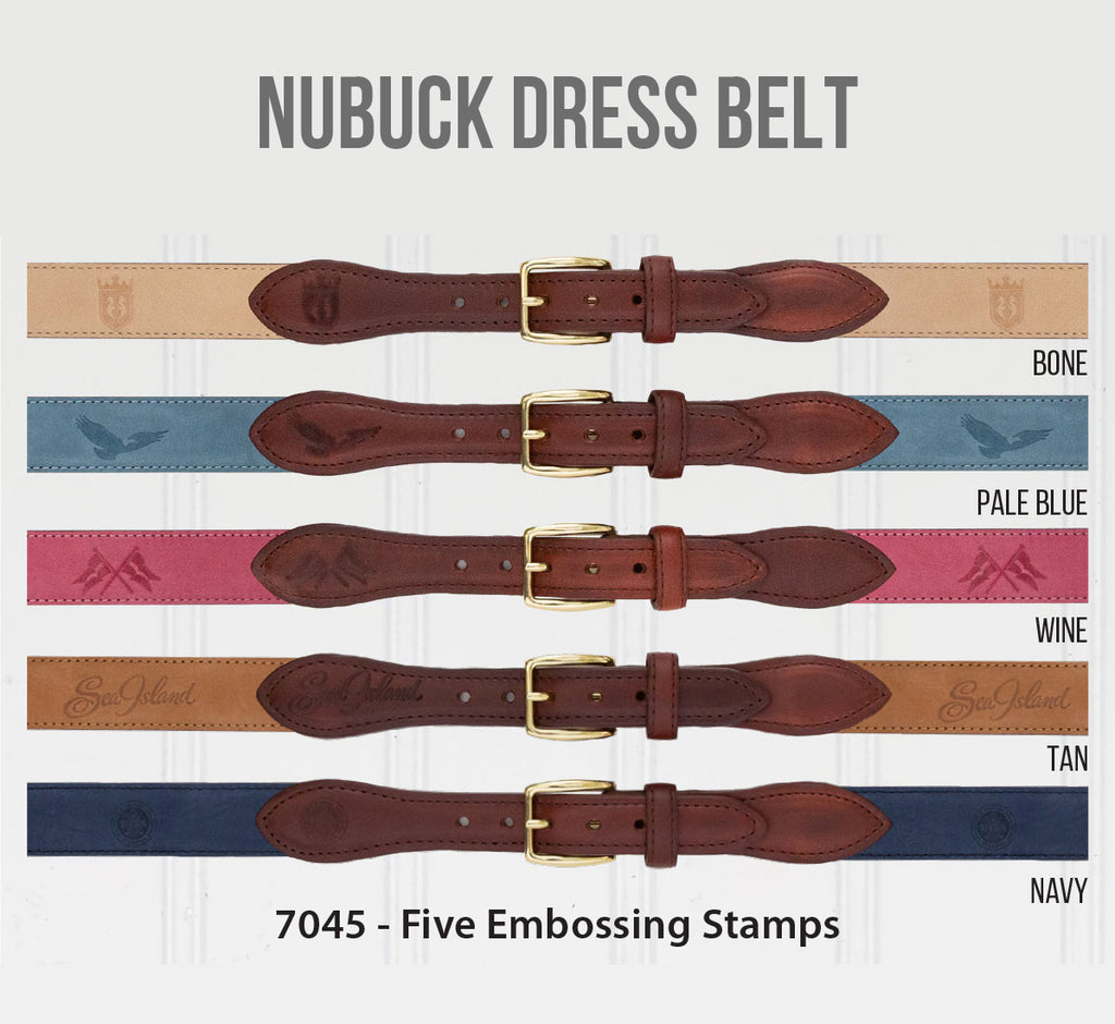 Nubuck Dress Belt