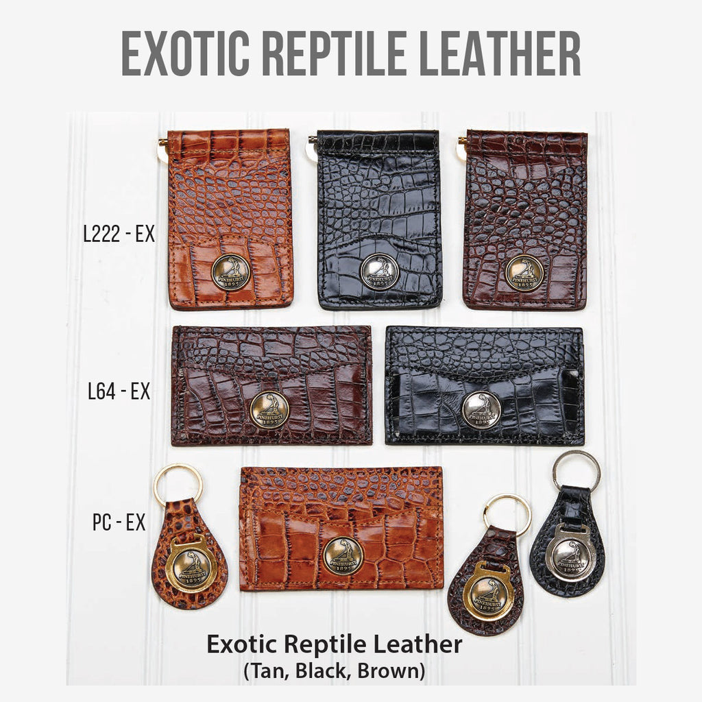 Exotic Reptile Leather Goods