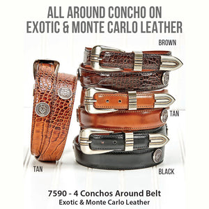 All Around Concho Belts
