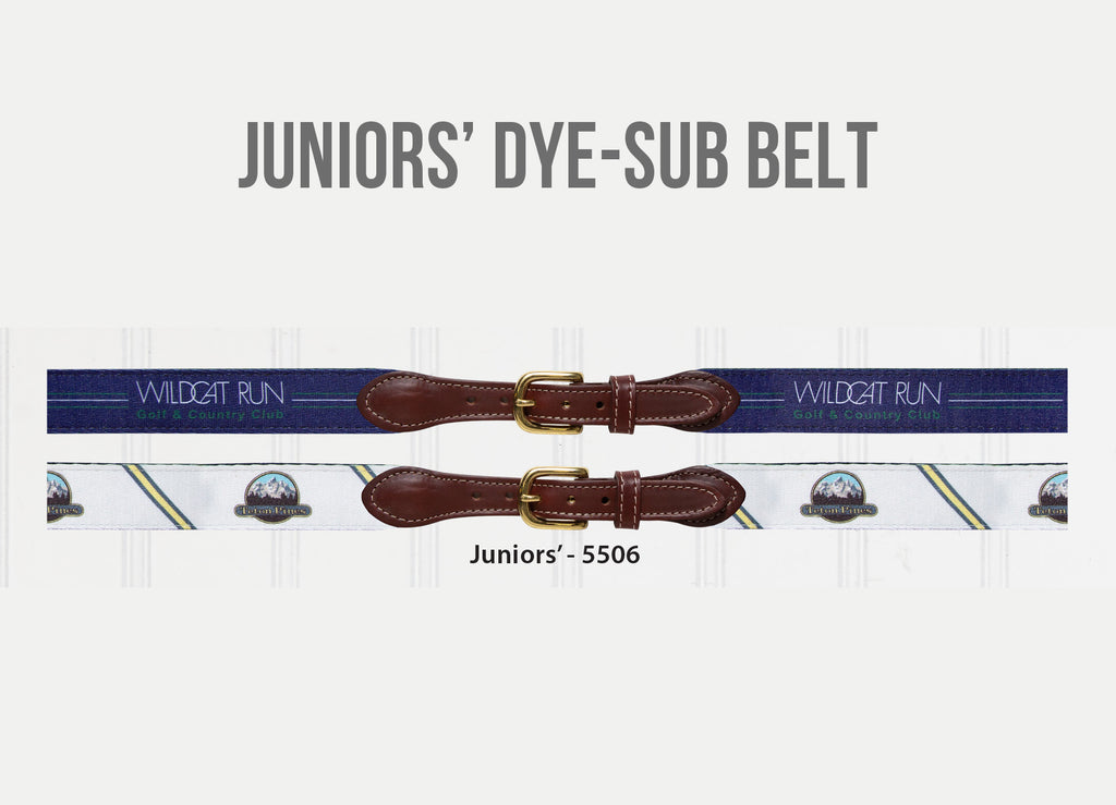 Juniors' Dye-Sublimation Belts