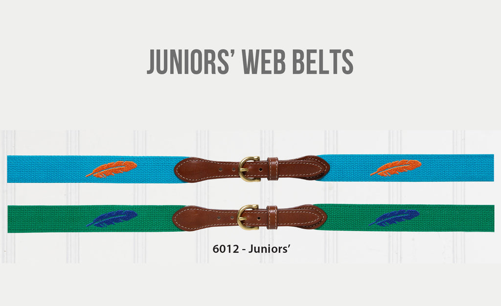 Juniors' Web Belts
