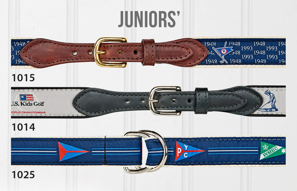 Juniors' Ribbon Belt