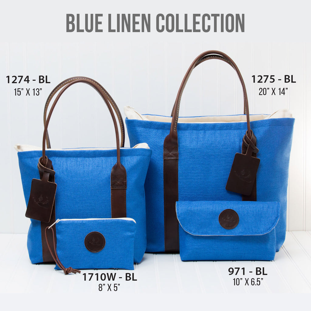 Blue Linen Collection