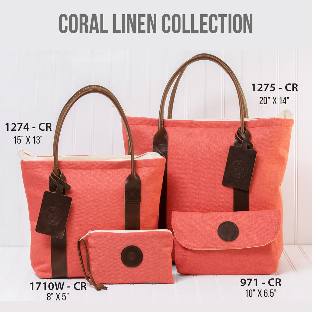Coral Linen Collection