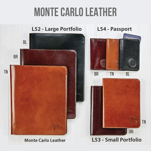 Monte Carlo Leather Portfolios