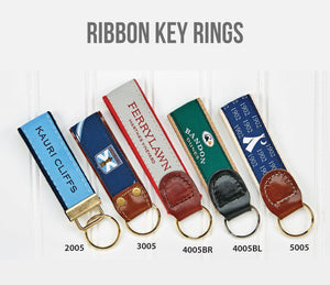 Ribbon Key Rings