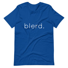 Load image into Gallery viewer, blerd. Short-Sleeve Unisex T-Shirt