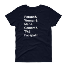Load image into Gallery viewer, Person & Woman & Man Women's Short-Sleeve T-Shirt