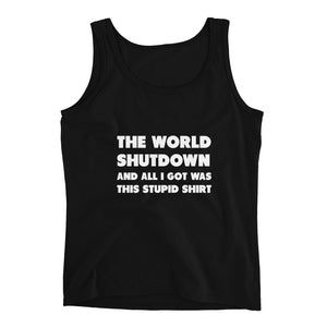 The World Shutdown Ladies' Tank