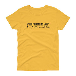 Where I'm From Women's Short-Sleeve T-Shirt