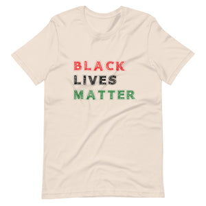 Black Lives Matter Short-Sleeve Unisex T-Shirt