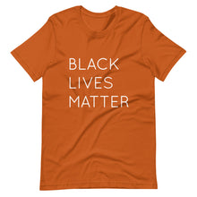 Load image into Gallery viewer, Black Lives Matter Short-Sleeve Unisex T-Shirt