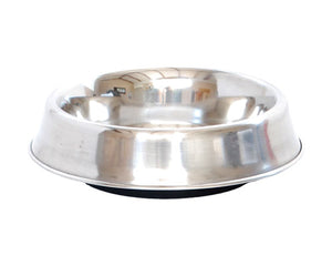 Canine Care Ant Free Stainless Steel Dog Bowl 64 oz