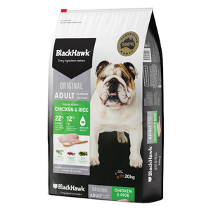 Black Hawk Original Adult Chicken Rice 20kg