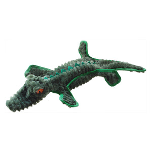 Dog Toy Ruff Play Plush Buddies Crocodile 42cm