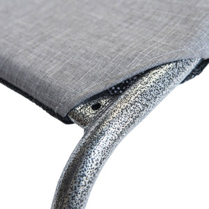 Dreamy Days Dog Bed Mid Grey & Mottled Silver Mini