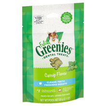 Load image into Gallery viewer, GREENIES Feline Dental Cat Treat Catnip Flavour 60g