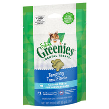 Load image into Gallery viewer, GREENIES Feline Dental Cat Treat Tempting Tuna Flavour 60g