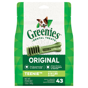 Greenies Teenie Size 340g - 43 per pack
