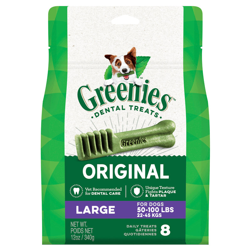 Greenies Large Size 340g - 8 per pack