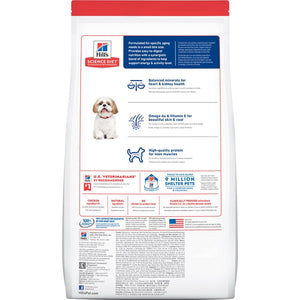 Hill's Science Diet Adult 7+ Small Bites Senior Dry Dog Food 2kg