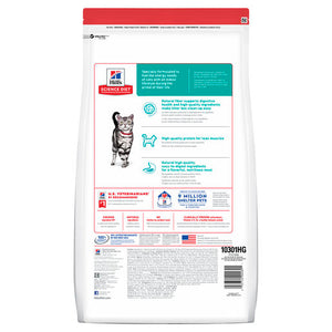 Hill's Science Diet Adult Indoor Dry Cat Food 4kg
