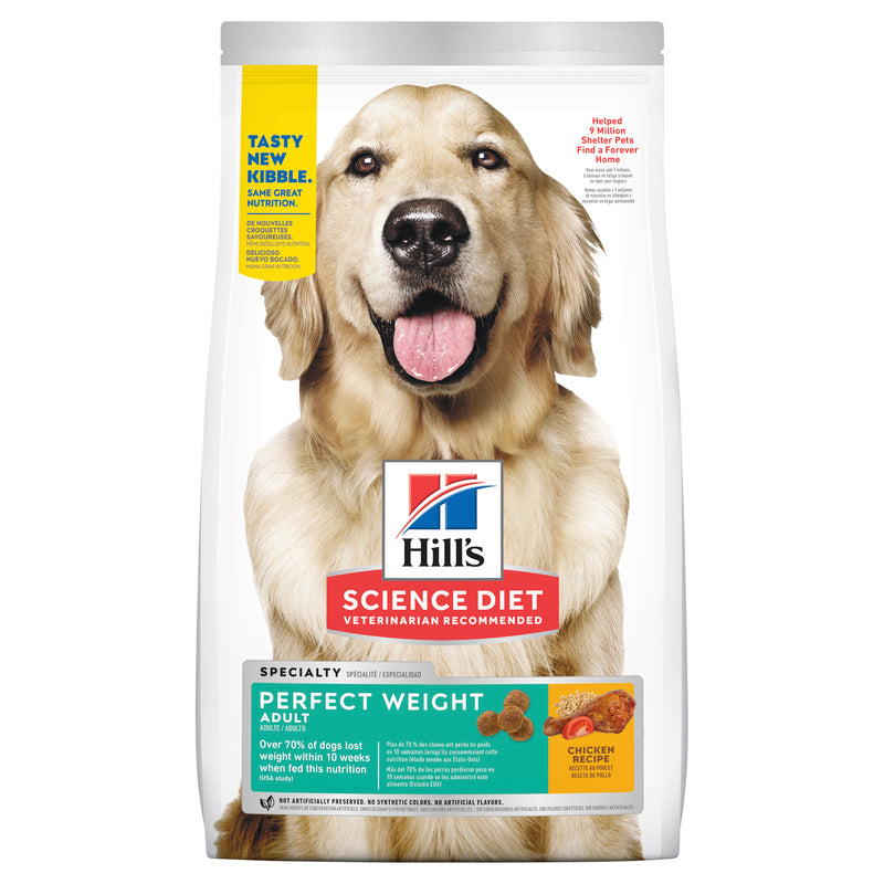 Hill's Science Diet Adult Perfect Weight Dry Dog Food 1.81kg