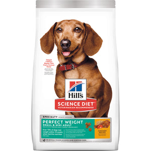 Hill's Science Diet Adult Perfect Weight Small & Mini Dry Dog Food 1.81kg