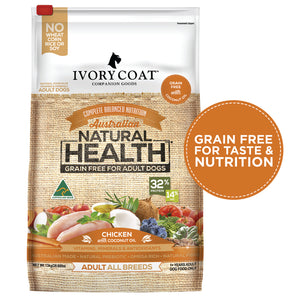Ivory Coat Chicken with Coconut Oil Grain Free Dry Dog Food 13kg