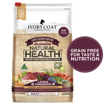 Load image into Gallery viewer, Ivory Coat Lamb & Kangaroo Grain Free Dry Dog Food 13kg