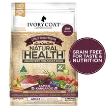 Load image into Gallery viewer, Ivory Coat Lamb & Kangaroo Grain Free Dry Dog Food 2kg