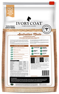 Ivory Coat Lamb & Sardine Grain Free Dry Dog Food 13kg