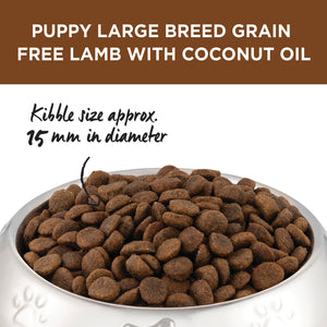 Ivory Coat Lamb with Coconut Oil Grain Free Large Breed Dry Puppy Food 2kg