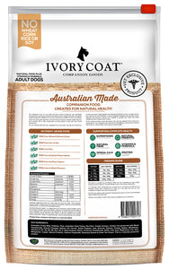 Ivory Coat Reduced Fat Turkey Dry Dog Food 13kg