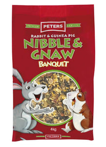 Peters Rabbit & Guinea Pig Nibble Gnaw 4kg